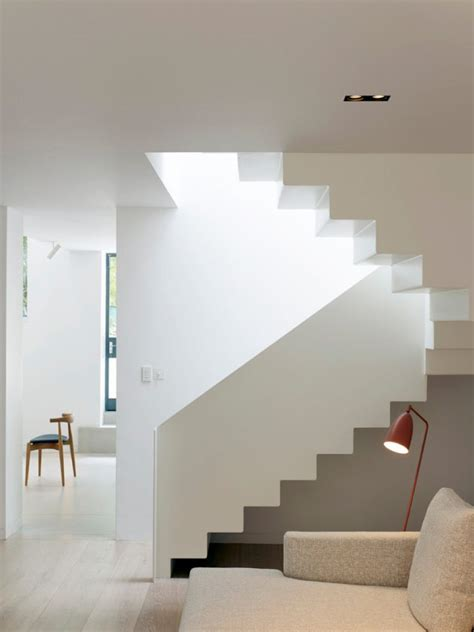 sophisticated scandinavian staircase designs