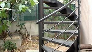 Escalier Exterieur Metal : escalier ext rieur quel mat riau choisir ~ Voncanada.com Idées de Décoration