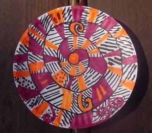 making  paper plate wind twirler thriftyfun