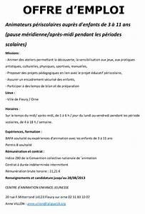 Offre D Emploi Perpignan Pole Emploi : offre d 39 emploi animateurs p riscolaires fleury sur orne ~ Dailycaller-alerts.com Idées de Décoration