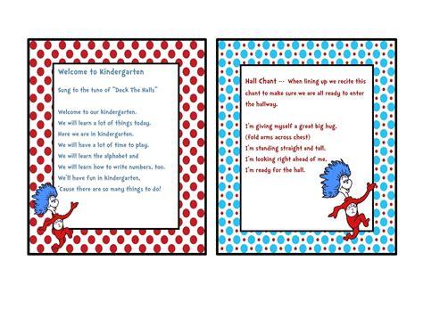 preschool printables dr seuss chants and songs 220 | ead42d235687111323b230997d61b59a