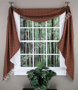 Sturbridge Curtains Park Designs Curtains by Park Designs Sturbridge Fishtail Lined Swag Curtains
