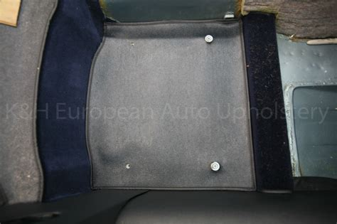 Jaguar E-type S1 Rds Navy Blue Interior