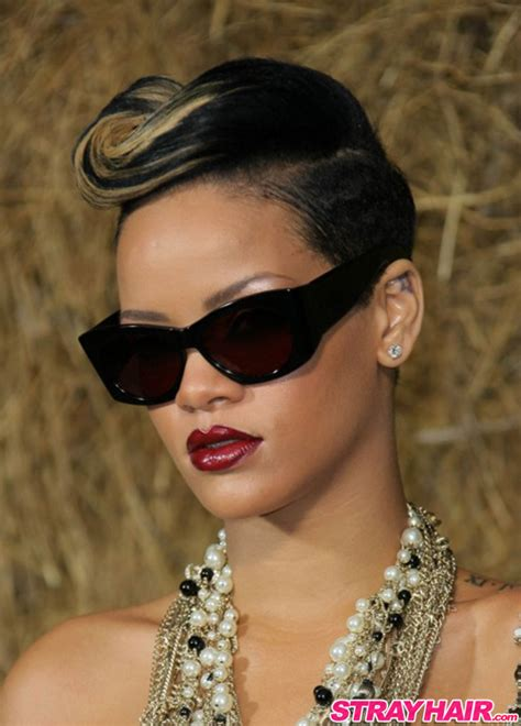 rihannas  great short hairstyles strayhair