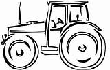 Tractor Coloring Pages Tractors Lawn Farm Mower Deere John Clipart Cartoon Drawing Printable Wagon Drawings Cliparts Trailer Res Farmall Clip sketch template