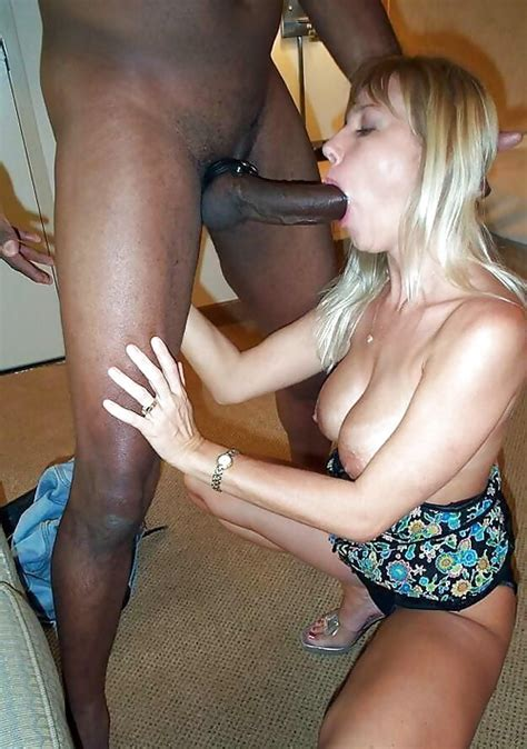 Busty Amateur Blonde Wife Gets Hard Interracial Fuck