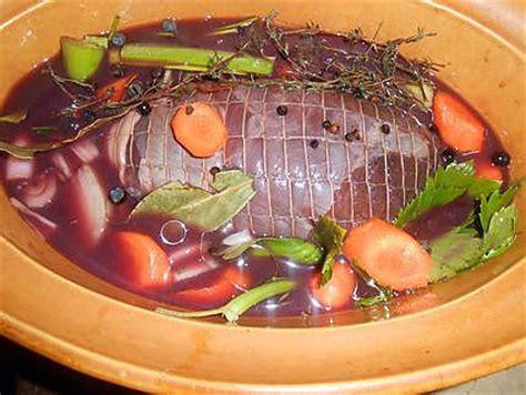 cuisiner une gigue de chevreuil recette de cuissot de chevreuil sauce grand veneur