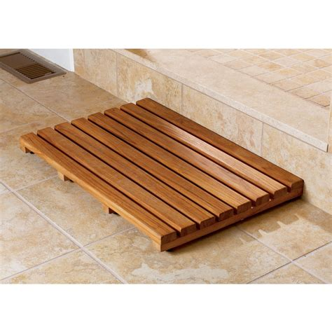 small bathroom storage ideas wood shower mat give a accent to your