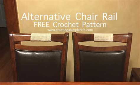 Alternative Chair Rail  Simple Crochet!  Creating A