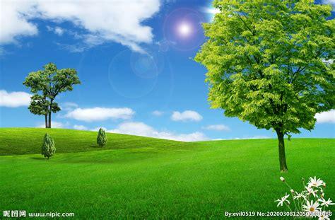 绿色自然背景壁纸图片设计图__人文景观_自然景观_设计图库_昵图网nipic.com