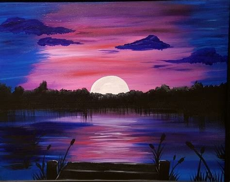 easy  simple canvas painting ideas  beginners