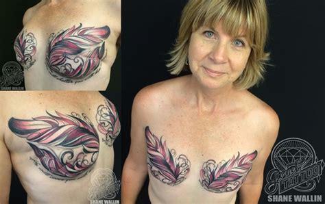 tattoos die brustkrebs narben wunderschoen verdecken
