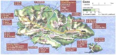 Malta Karte Mit Sehenswürdigkeiten