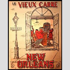 New Orleans Jazz Poster Musicians Poster Bourbon Street Jazz Players 17x22 Inch Ebay