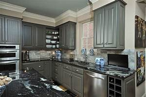 painting kitchen cabinets gray decor ideasdecor ideas With what kind of paint to use on kitchen cabinets for 26 2 sticker