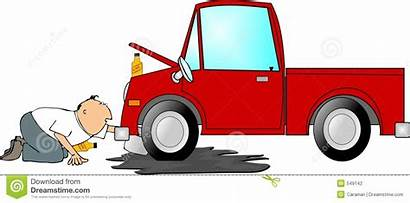 Oil Change Changing Clipart Truck Illustration Depicts
