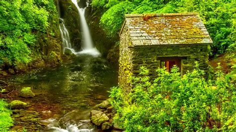 Waterfall Wide Desktop Background Wallpaper 04575 2560x1600