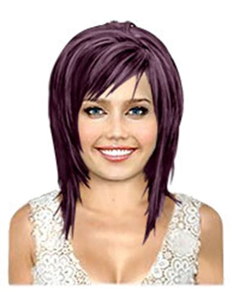 haircut  hair color  medium concave bobs