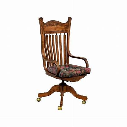 Chair Desk Wooden Casters Chairs Office Furniture