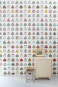 Papier Peint Bébé Garcon : papier peint enfant nos coups de coeur pour sa chambre ~ Nature-et-papiers.com Idées de Décoration