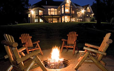 fire pit safety house plans