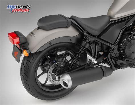 Honda's New CMX500 Bobber Due Early 2017
