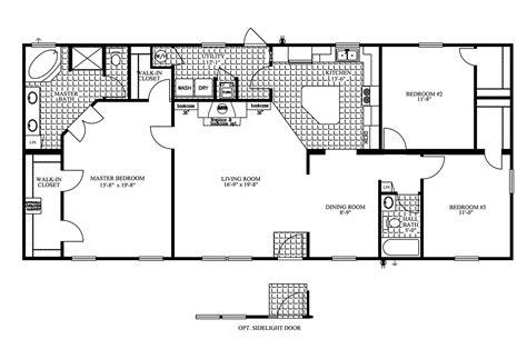 manufactured home floor plan 2009 clayton jamestown