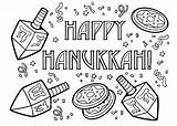 Coloring Hanukkah Pages Happy Chanukah Printable Sheets Fun December Dreidel Colouring Menorah Preschool Adult Drawing Adults Crafts Getcoloringpages Symbols Activity sketch template