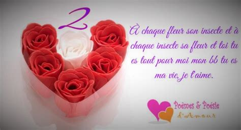 image gallery message d amour