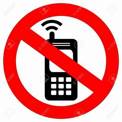 Phone Handy Kein Clipart Telefoon Geen Celular