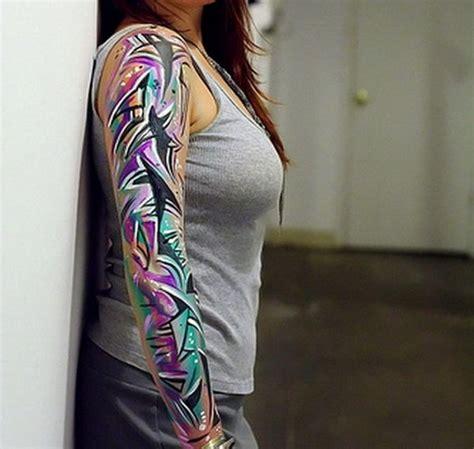 25+ Beautiful Feminine Sleeve Tattoos Ideas On Pinterest
