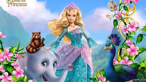 barbie   island princess barbie movies wallpaper