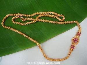 Imitation Chain Design ~ South India Jewels