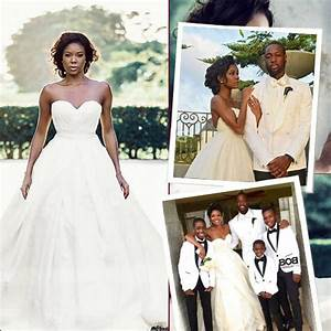 106 best wedding dresses images on pinterest With gabrielle union wedding dress