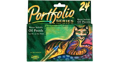 Water Soluble Oil Pastels 24 Ct Portfolio Series
