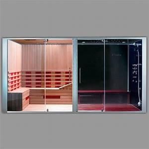 Sauna Hammam Prix : combin douche hammam sauna big miami ~ Premium-room.com Idées de Décoration