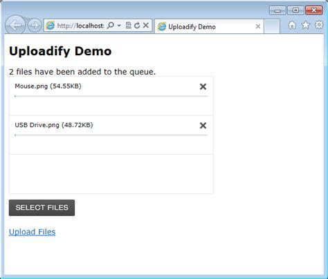 Uploadify In Webmatrix Again