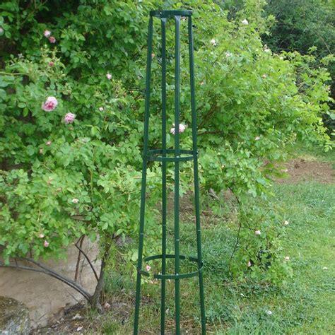 support rosier grimpant tuteur colonne corset gamm vert