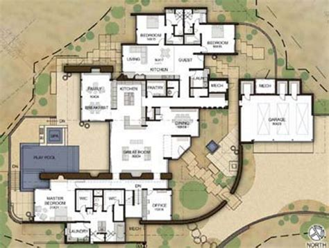 green building house plans exceptional earth walled home is a desert oasis