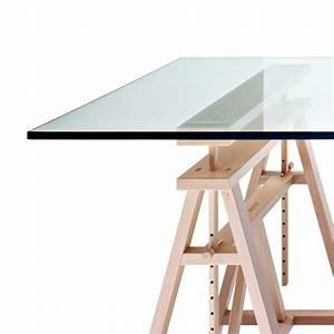 Plateau En Verre Pour Bureau : teatro table magis plateau verre table haute ~ Dailycaller-alerts.com Idées de Décoration