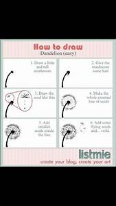 How to draw a dandelion. | To Do | Pinterest | Search ...