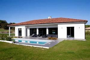 construction d39une maison contemporaine realisee a aix en With plan de belle maison 2 maison neuve avec piscine toit plat
