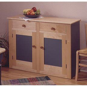 woodcraft country buffet  hutch woodworking plan