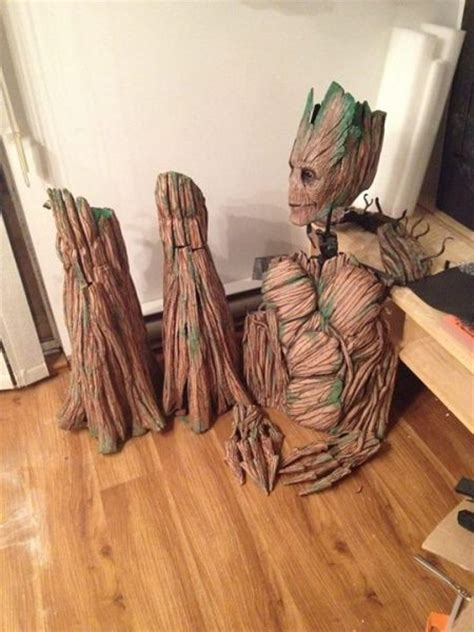 groot cosplay  perfectly  pics