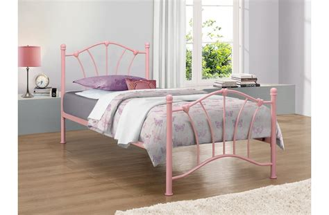 Pink Bed Frame For Girls Bedroom