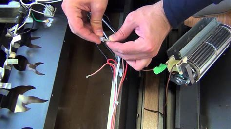 Electric Fireplace Insert Fan Replacement   YouTube
