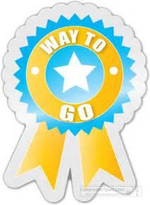 motivational clipart way to go motivational award sticker classroom clipart