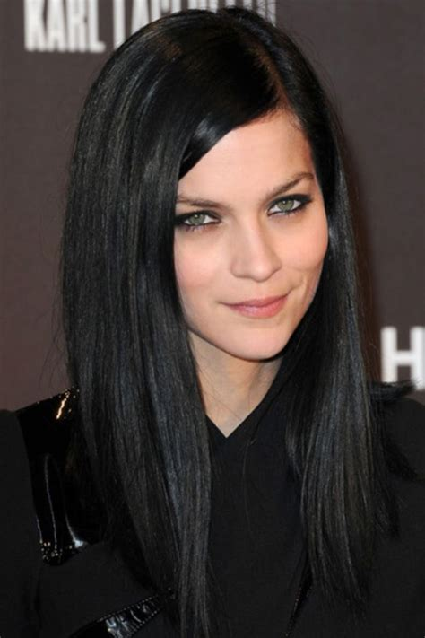 Jet Black Hair Styles by Jet Black Hair Color Hair Hair Color For Black Hair