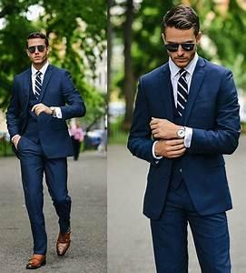 Blauer Anzug Schwarze Krawatte : pin by josh hahn on dude fashion pinterest m nner mode herren outfit and herren mode ~ Frokenaadalensverden.com Haus und Dekorationen