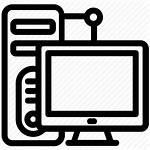 Server Computer Icon Application Network Proxy Vectorified